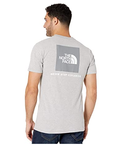 The North Face Short Sleeve Red Box T-Shirt (TNF Light Grey Heather) Men