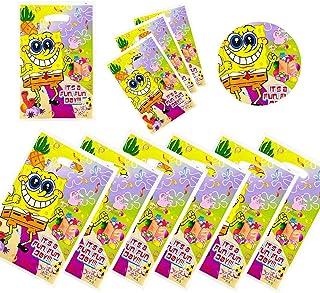 SpongeBob SquarePants gift bags SpongeBob SquarePants themed party decoration 30pc SpongeBob SquarePants birthday party de...