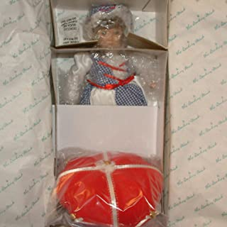 Danbury Mint Vintage Little Miss Muffet Collectible Porcelain Doll (The Storybook Doll Collection)