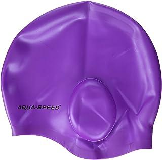 Aqua-Speed Bubble Silicone S Cuffia da Piscina Uomo