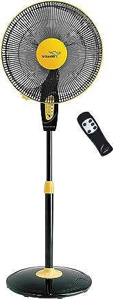 V-Guard Finesta Remote 400mm Pedestal Fan (Yellow Black)