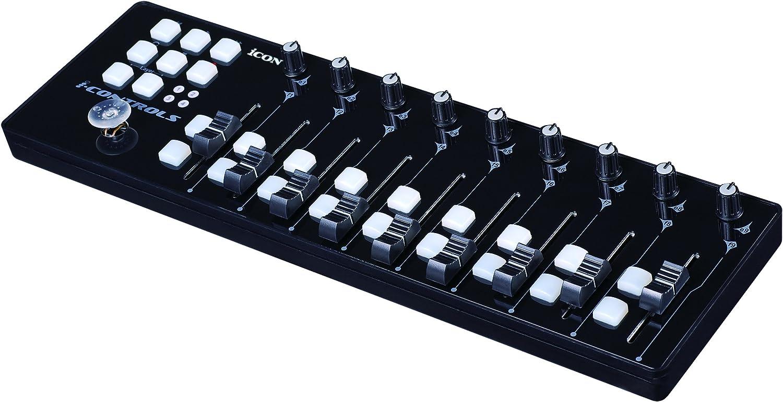 Icon Max 49% OFF i-Controls - Potable MIDI 9-Fader Controller Genuine