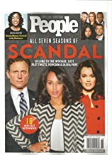 PEOPLE MAGAZINE SPECIAL EDITION ALL SEVEN SEASONS OF SCANDAL. 2018