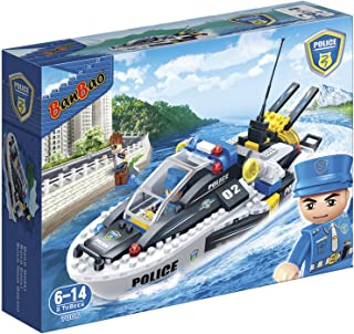 Banbao Police Series , 225Pcs , 7006, 6-14(2 TO BEES)