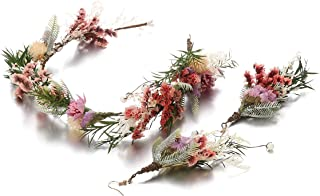 dried flower headpiece