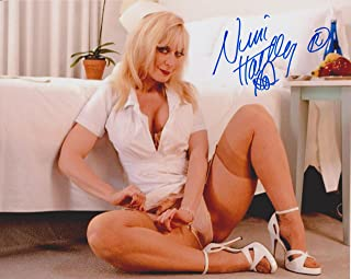 Nina Hartley #7 Original Autographed 8X10 Photo