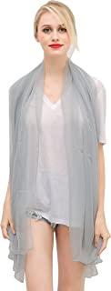 Silk Shawls and Scarf Women's Fashion Large Sunscreen Shawls Wraps