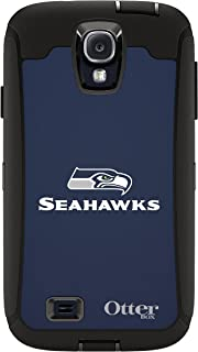 OtterBox 77-50075 'Defender NFL Series' Protective Case for Samsung Galaxy S4 Phone - Seahawks (Retail Packaging from OtterBox)
