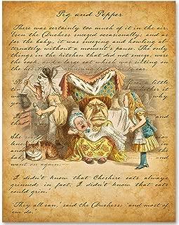 Alice in Wonderland - The Queen of Hearts - 11x14 Unframed Alice in Wonderland Print