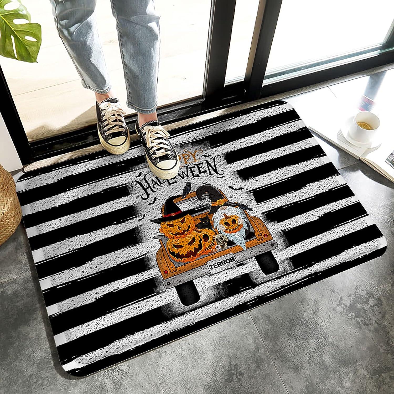 LBHAUSE Entrance Super popular specialty store Doormat Indoor Wire Halloween Mats Popular overseas Foot T Ring