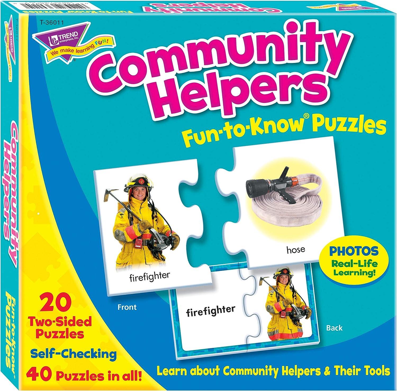 TREND enterprises Inc. Community Set Puzzle Helpers 5 popular High order