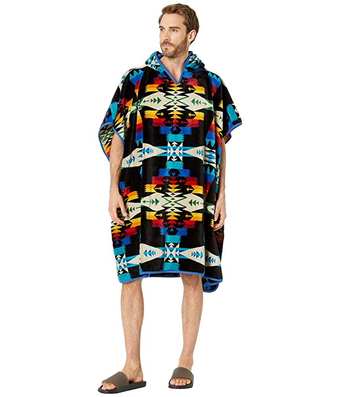 Jacquard Adult Hooded Towel Tuscon Black