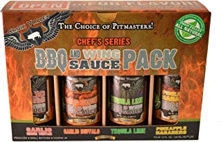 Croix Valley - All Natural and Gluten Free, BBQ & Wing Sauce Gift Pack