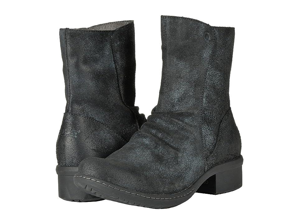 Bogs Auburn Leather (Black) Women