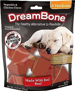 DreamBone Beef Flavored Dog Chew Rawhide-Free Bones