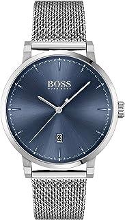 ساعة انالوج للرجال من هوغو بوس كونفيدنس، فضي - 1513809