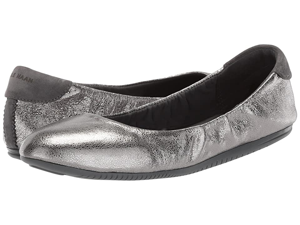Cole Haan Studiogrand Convertible Ballet Core (Anthracite Glitter/Metallic Leather/Gray Pinstripe Nubuck/Magnet) Women