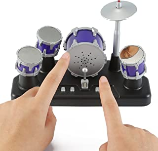 Liberty Imports Electronic Mini Finger Drum Desktop Novelty Set