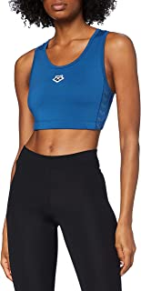 ARENA Women's Icons Bra Top Team, Black-White-Black