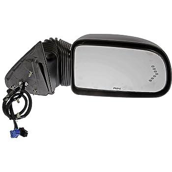 Amazon Com Dorman 955 671 Passenger Side Power Door Mirror Heated With Signal For Select Chevrolet Gmc Models Black Automotive