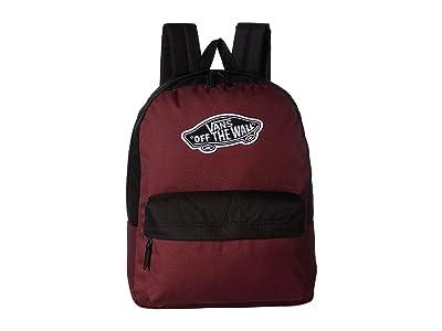 Vans Realm Backpack (Prune/Black) Backpack Bags