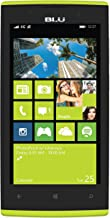 BLU Win Jr LTE - GSM Unlocked Windows Smartphone - Yellow