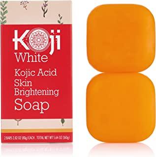 Pure Kojic Acid Skin Brightening Soap for Glowing & Radiance Skin, Dark Spots,..