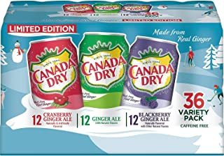 Canada Dry Winter Variety Pack, 12 Ounce (36 Pack)