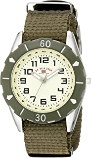 U.S. Polo Assn. Kids' USB75029 Analog Display Analog Quartz Green Watch
