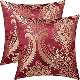 Best gold and red pillows Reviews