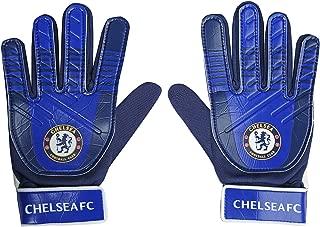 Chelsea FC Official Soccer Gift Kids Youths Goalkeeper Goalie Gloves