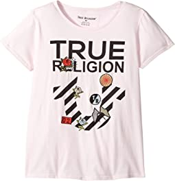True Religion Kids - Stripe Horseshoe Tee Shirt (Big Kids)