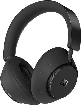 Dolby Dimension Auriculares inalámbricos Bluetooth sobre los oídos con cancelación de ruido activa (negro) con Dolby LifeMix – Perfeccionados para entretenimiento en casa en TV, teléfonos inteligentes, tabletas y más