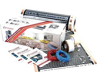 Heating floor - 25m2 Underfloor Heating Film Kit for Under Laminate & Wood 160W/m2