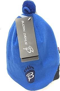 Unica Colore Nero Bj/örn Daehlie 80530 Hat Polyknit Logo Cuffia Unisex tg