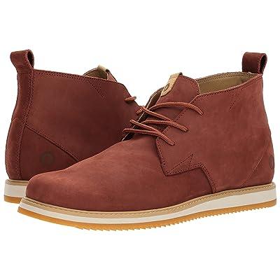 Volcom Del Coasta Leather Shoe (Rust) Men