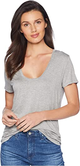 Sloane Short Sleeve Scoop Tee