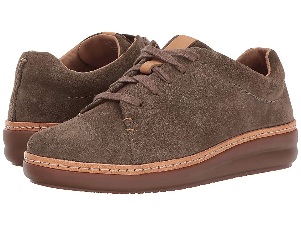 Clarks Amberlee Crest (Olive Suede) Women's  Shoes