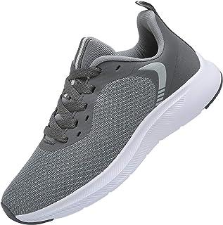 DAFENP Zapatillas Running de Deportivas para Hombre Mujer Gimnasio Sneakers Comodos Deportes Calzado Ligero Transpirable