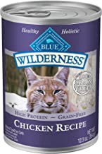 Blue Buffalo Wilderness High Protein Grain Free, Natural Adult Pate Wet Cat Food Variety Pack
