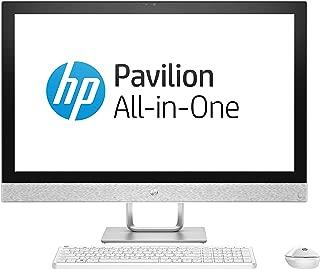HP Pavilion All-in-One - 27-r175d, Intel Core i7-8700T Processor (2.4 GHz, 6 cores); 16 GB DDR4-2400 SDRAM (2 x 8 GB); 1 TB 7200 rpm SATA, Blizzard white