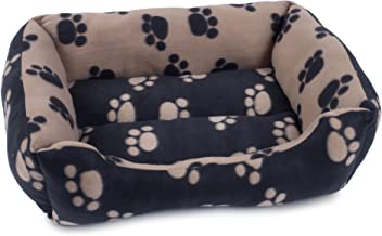 Petface Archies Square Dog Bed, Black