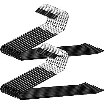 Metal Clip Top Hangers 2 Bundles Of 10 Trouser//coat Hangers