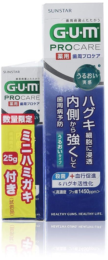 擬人化ボーダーつまらないGUM 歯周プロケア ペースト うるおい +25g増量