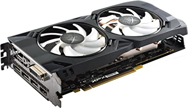 XFX Hard Swap Edition AMD Radeon RX 480 4GB GDDR5 PCI Express 3.0 Graphics Card with White LED Backlight