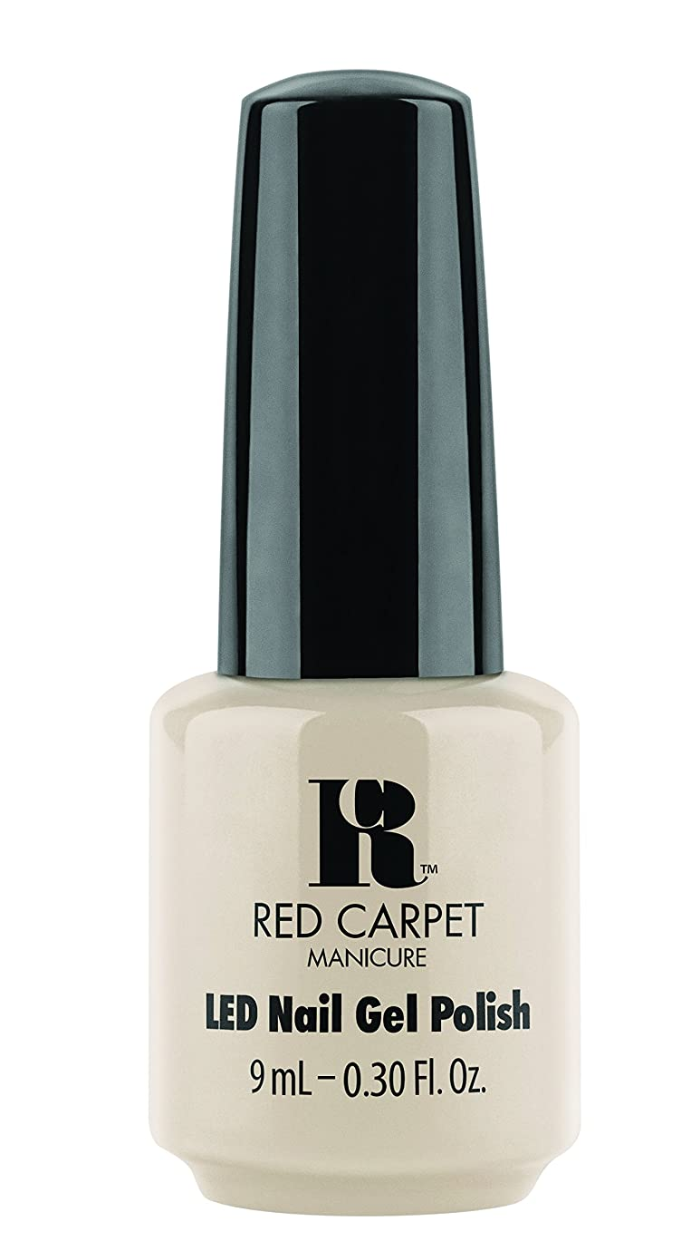 前部グレー楽しいRed Carpet Manicure - LED Nail Gel Polish - Sneak Peek - 0.3oz/9ml