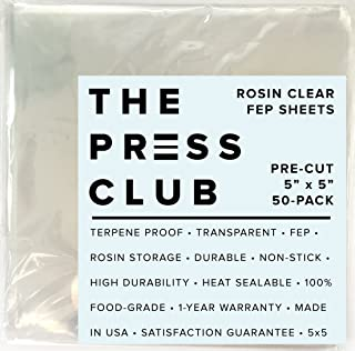 FEP Rosin Storage Sheets | 0.1MM | 5