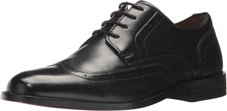 Nunn Bush Men's Slate Wing Tip Oxford, schwarz, 10.5 10.5 M US  Top-Marke