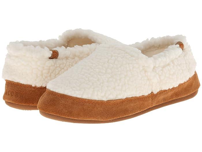 Acorn   Moc (Buff Popcorn) Womens Moccasin Shoes