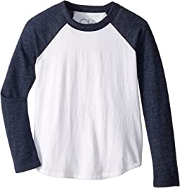 Chaser Kids - Super Soft Retro Raglan Baseball Tee (Little Kids/Big Kids)